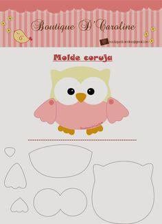 Maripê: Fevereiro 2014. Owl pattern