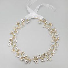 Women's/Flower Girl's Alloy/Imitation Pearl Headpiece - Wedding/Special Occasion Headbands 1 Piece – USD $ 11.99