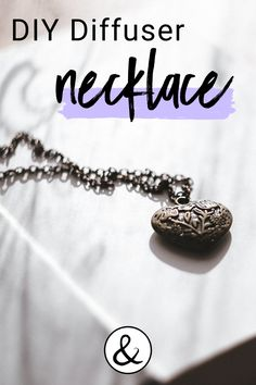 If you love essential oil diffuser jewelry, here is how to make your own diffuser necklace using a locket. Diy Essential Oil Diffuser, Best Essential Oils, Diffuser Jewelry, Diffuser Necklace, Antique Locket, Leather Sheets, Organic Living, Locket Necklace, Craft Stores