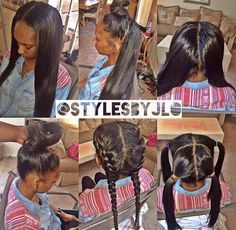 ... & Beauty that I love | Pinterest | Sew Ins, Partial Sew In and Sew