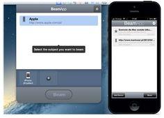BeamApp dla Maka i iPhone'a.