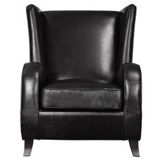 Uttermost Lane Black Accent Chair