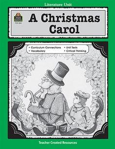 Charles Dickens A Christmas Carol ~ Lesson Ideas - Teach Beside Me
