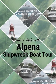 Living in Michigan, it's not hard to find something to do with water.  But, if you want to get away and experience a new adventure, take a half day and drive to Alpena where you can ride on Alpena Shipwreck Tours. This trip is a two-hour ride in a glass-bottom boat through the Thunder Bay National Marine Sanctuary which has over 50 identified shipwrecks.