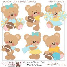 Honey Cheers for Marshmallow-Exclusive to Store, Kristi W Designs,  Kitten Scraps
