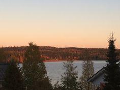Evening sun in Jyväskylä Finland
