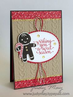 Stampin' Up! - Candy Cane Lane Christmas - Judy May, Just Judy Designs