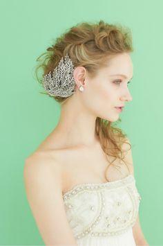 #NOVARESE #wedding #accessory #styling #hair #ノバレーゼ #ウエディング #アクセサリー #スタイリング #髪型 #Temperlely London #テンパリー・ロンドン
