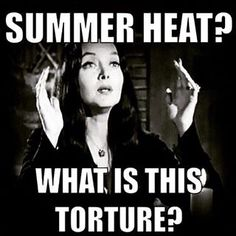 Morticia.  I completely agree!