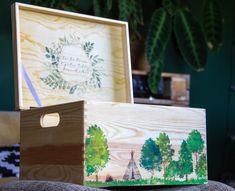 Erinnerungskiste aus Holz | Geburtsgeschenk | Taufe | Hochzeit | Geburt | Urlaubserinnerungen |Alle Kisten sind individuell personalisierbar Kiefer, Instagram, Home Decor, Creative Gifts, Personalized Gifts, Craft Gifts, Handmade, Birthday, Christmas