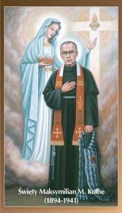 São Maximiliano e Maria Imaculada / St. Maximilian and Mary Immaculate.