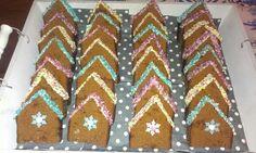 Ontbijtkoek huisjes