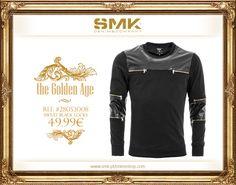 SMK DENIM&Co.: SMK DENIM&CO.   SWEAT BLACK LOCKS   49.99€