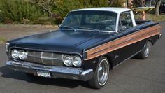 Phantom 1964 Mercury Comanchero, Custom Comet Ford Falcon Ranchero 1965 woody, Used Classic Mercury