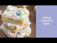 Confetti Bars - Spring Decorated