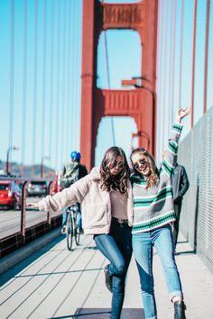 Luxurious Ladies Journey to SF Spectacular The San Francisco Ladies J. San Francisco Girls Trip, San Francisco Travel, Travel Photography Inspiration, Girl Photography, San Francisco Pictures, San Francisco Photography, Friend Poses, Friend Pictures, Sedona Arizona