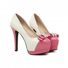 $14.22 Elegant Women's Pumps With Bowkot and Color Matching Design