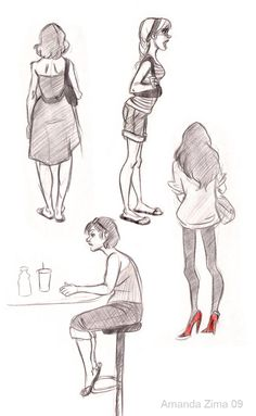 Amanda's Drawing Blog ✤ || CHARACTER DESIGN REFERENCES | Find more at https://www.facebook.com/CharacterDesignReferences if you're looking for: #line #art #character #design #model #sheet #illustration #expressions #best #concept #animation #drawing #archive #library #reference #anatomy #traditional #draw #development #artist #pose #settei #gestures #how #to #tutorial #conceptart #modelsheet #cartoon #female #lady #woman #girl || ✤