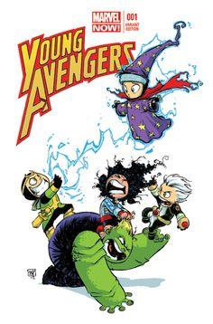 Young Avengers - Skottie Young