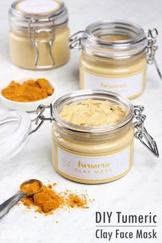 DIY Turmeric Clay Face Mask - Soap Queen