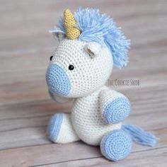 Yet Another Unicorn: Free Crochet Pattern
