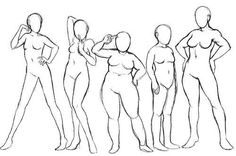 New Fashion Drawing Tutorial Body Types Ideas Source by drawing Arm Drawing, Drawing Female Body, Body Reference Drawing, Person Drawing, Human Figure Drawing, Drawing Base, Art Reference Poses, Drawing People, Female Body Types