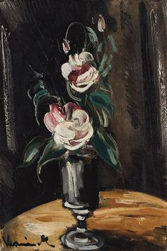 Vase with Flowers 10, by Maurice de Vlaminck (French, 1876-1958),