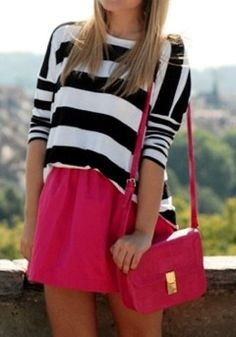 Stripes and Brights.