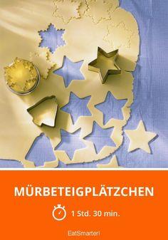 Mürbeteigplätzchen - smarter - Zeit: 1 Std. 30 Min.   eatsmarter.de