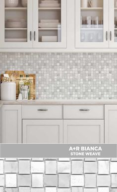 #tile #lowes #mosaics #glassmosaics #backsplash ST448CABW1212 Available at Lowe's and Lowes.com