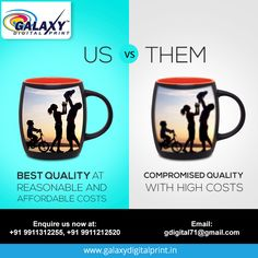 We offer expert quality services, at reasonable prices. We do not compromise on quality & and are very particular on timely submissions. For bulk orders, get in touch with us at gdigital71@gmail.com  #DigitalPrinting #MugPrinting #Printing Mug Printing, Submissive, Digital Prints, Touch, Mugs, Tableware, Dinnerware, Tumbler, Dishes
