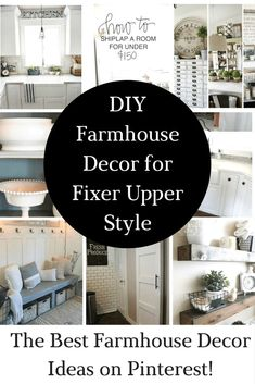 Diy Farmhouse Decor Projects For The Fixer Upper Look