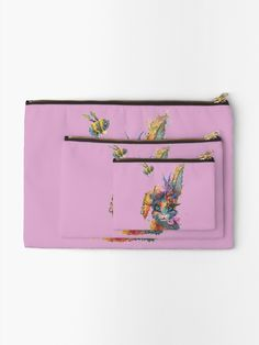 'Steampunk Bunny' Zipper Pouch by Sophie Huddlestone Zipper Pouch, Chiffon Tops, V Neck T Shirt, Zip Around Wallet, Steampunk, Classic T Shirts, Bunny, Gifts, Bags