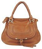 Chole 1836 Genuine leather Tote Bag khaki