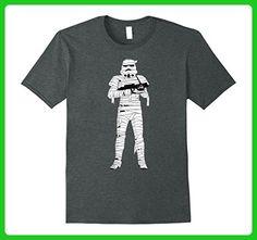 Mens Star Wars Stormtrooper Mummy Wraps Halloween T-Shirt XL Dark Heather - Holiday and seasonal shirts (*Amazon Partner-Link)