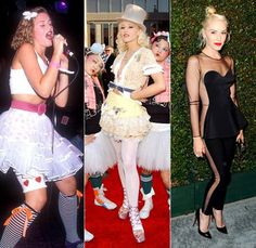 Gwen Stefani's Fashion Evolution - Check out this link to see a comprehensive timeline of Gwen's rockin' style! | Billboard #styleicon