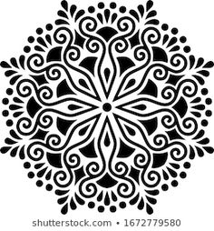 Islamic Art Pattern, Mandala Pattern, Pattern Art, Stencil Templates, Art Template, Stencils, Mandala Artwork, 3d Laser, Christmas Ornament Crafts