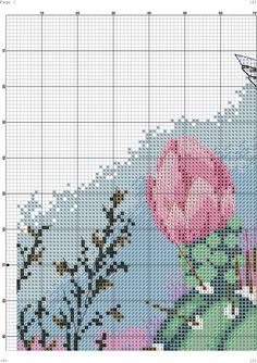 Zz Cross Stitch Bird, Cross Stitching, Cross Stitch Patterns, Embroidery Patterns, Photo Wall, Minis, Tapestry, Floral, Flowers