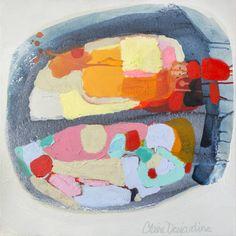 "Saatchi Art Artist Claire Desjardins; Painting, ""Favorite Sandy Beach"" #art"