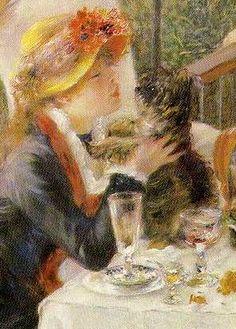 ⊰ Posing with Posies ⊱ Renoir