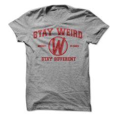Stay Weird University - #gift for girlfriend #cute gift. ACT QUICKLY => https://www.sunfrog.com/LifeStyle/Stay-Weird-University.html?68278
