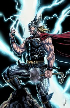 Thor - Geebo Vigonte & Omi Remalante - visit to grab an unforgettable cool Super Hero T-Shirt! Asgard Marvel, Marvel Vs, Marvel Heroes, Arte Dc Comics, Marvel Comics Art, Anime Comics, Marvel Comic Character, Marvel Characters, Comic Book Heroes