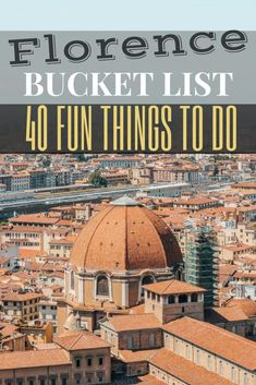 The best ideas for Florence things to do and see to what to eat. From Italy's most historic attractions to the top Italian pasta restaurants to quaint wine bars. Italy In March, Things To Do In Italy, Europe Bucket List, Italy Travel Tips, Travel Destinations, European Travel, European Vacation, Florence Italy, Places To See