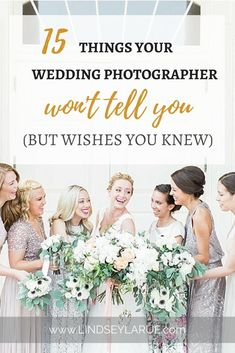 Ever wondered what your wedding photographer really wishes they could tell you? I'm dishing all the secret thoughts we wish our brides and grooms knew! Wedding Advice, Wedding Blog, Fall Wedding, Diy Wedding, Wedding Photos, Dream Wedding, Wedding Day Tips, Wedding Hair, Wedding Cakes