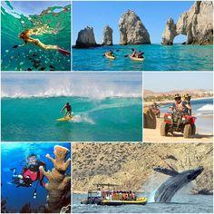 In #LosCabos you will find different activities where you can practice Ecotourism as kayaking, snorkeling, dive, surf, Atv's and whale watching, among others.  www.sandos.com  En #LosCabos podrás encontrar diferentes actividades en donde puedes practicar el Ecoturismo como Kayak, Snorkeling, Buceo, Surf, Atv´s y Avistamento de Ballenas, entre otras.