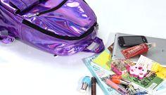 "Harajuku laser rainbow backpack - Use the code ""batty"" at Cute Harajuku and Women Fashion for 10% off your order!"