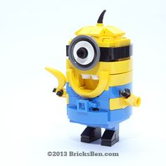 Lego (^o^) Kiddo (^o^) BricksBen - LEGO Despicable Me Minion - with LEGO Banana