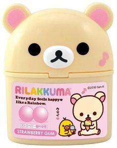 Japanese Snacks, Japanese Candy, Cute Baking, Japan Logo, Bear Logo, Rilakkuma, Cute Food, Sanrio, Hello Kitty