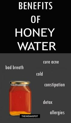 Benefits of honey water- a perfect #home remedy for a healthy life.
