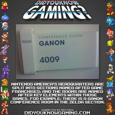 Did You Know Gaming? Nintendo Headquarters